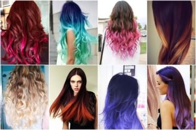 Для тех, кто еще не знает, как называется окраска кончиков волос -«шатуш», «омбре», «балаяж»