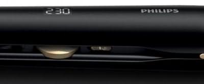 На фото вы видите стайлер с электронным регулятором температуры и дисплеем