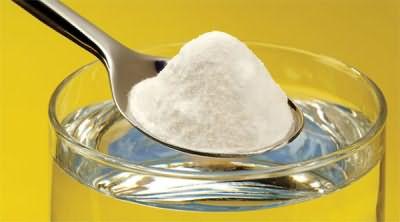 Сода отлично смягчает воду