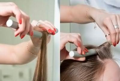 Как накрутить волосы на поролоновые бигуди - папильотки