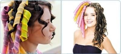 Как накрутить волосы на мягкие бигуди: принцип действий и результат