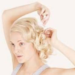 Как накрутить волосы на плойку - шаг 3