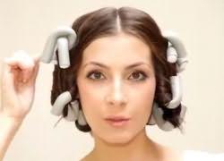 как накрутить волосы на бигуди бумеранги 7