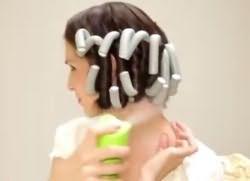 как накрутить волосы на бигуди бумеранги 8