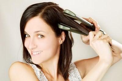 как идеально выпрямить волосы утюжком