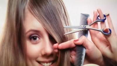 как подстричь саму себя