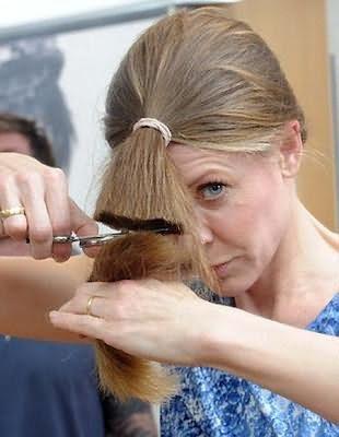 Как саму себя подстричь каскадом