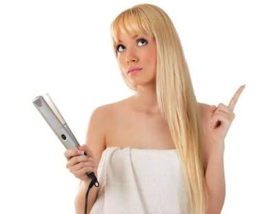 Пользуйтесь утюжками аккуратно, чтобы не пересушить волосы – не злоупотребляйте его применением
