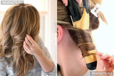 как уложить красиво волосы