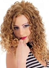 красивые кудри на длинные волосы 9