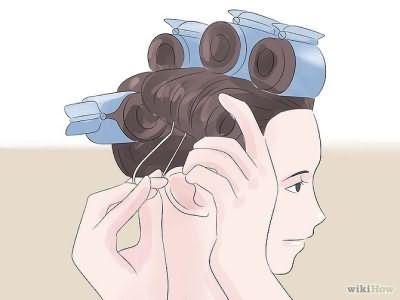 Как сделать локоны с помощью термобигуди: этап 3