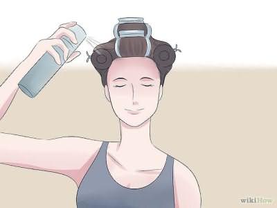 Как сделать локоны с помощью термобигуди: этап 4