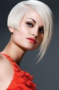 стрижка боб для пепельного цвета волос