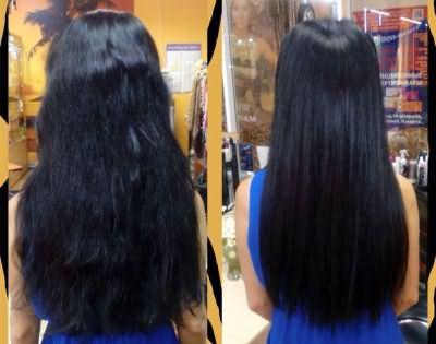 До и после полировки
