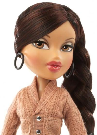 прическа для куклы