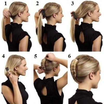 Заколка-ракушка для волос позволяет очень легко и быстро создать красивую вечернюю укладку.