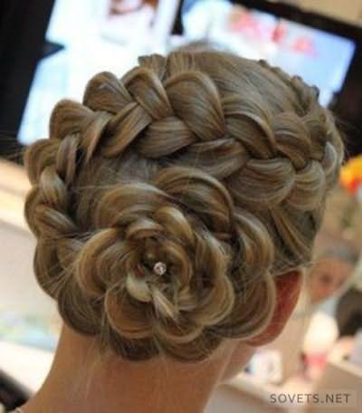 Коса-цветок