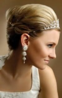 Свадебная прическа для коротких волос своими руками