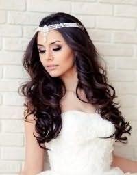 Прическа на свадьбу локоны своими руками