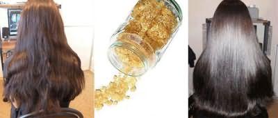 Желатиновое ламинирование для густоты волос