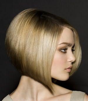 Стрижка боб–каре идеальна для тяжелых волос.