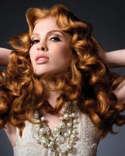 Как укладывать волнистые волосы