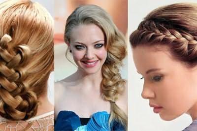 Коса во все времена была украшением облика