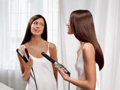 Обязательно подготовим волосы к такой укладке.