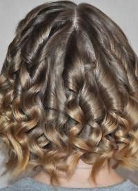 Как правильно накрутить короткие волосы 6