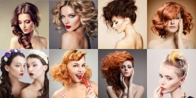 Укладки для кудрявых волос