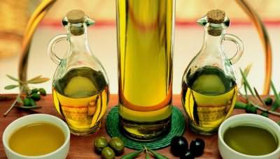 Вытяжки из черных и зеленых оливок