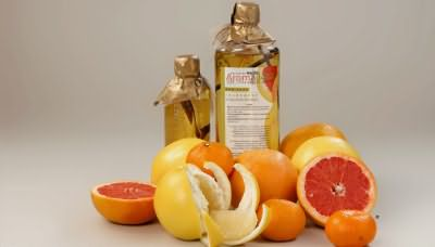 Мандарины, апельсины и грейпфрут
