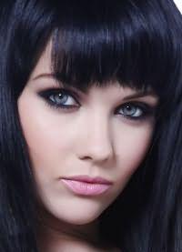 черный цвет волос 2