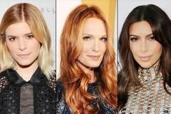 какой цвет волос в моде 2017
