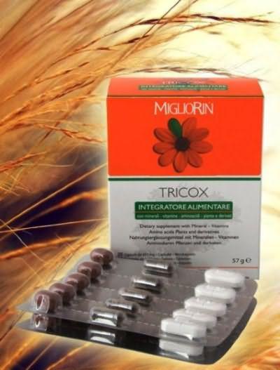 Капсулы для роста волос ТРИКОКС от Migliorin (стоимость – от 2 300 руб.)