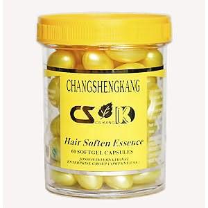 Золотые витамины в капсулах для волос от Сhangshengkang