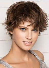 короткие стрижки для редких волос 2