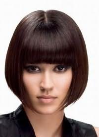 стрижки на средние редкие волосы 2