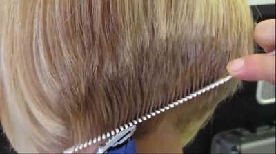каре с челкой на тонкие волосы фото