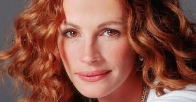 Рыжий цвет волос и карие глаза – легендарный образ Джулии Робертс