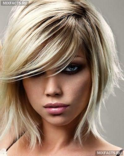 модные каскадные стрижки для тонких волос