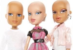 Проблема последствий онкологических заболеваний настолько масштабна, что нашла свое отражение даже в детских игрушках – коллекция тематических кукол Bratz в поддержку онкобольных