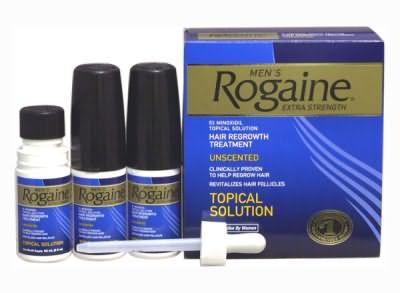 Действующим веществом Рогаина является миноксидил