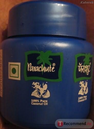 упаковка кокосового масла PARACHUTE