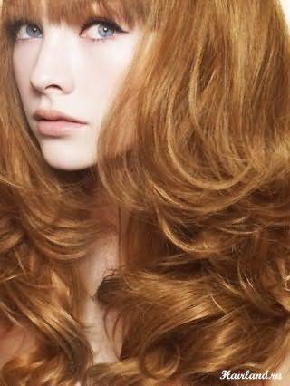 Мелирование на крашеные рыжие волосы