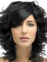Кому идет черный цвет волос 6