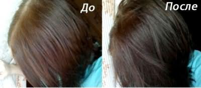 Как используется тоник для волос шоколадного цвета.