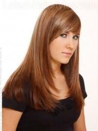 Вариант стрижки на длинные волосы, не требующая укладки
