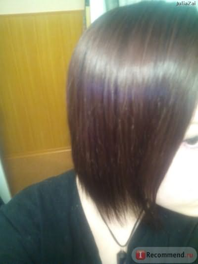 После(волосы заблестели и стали укладываться лучше)