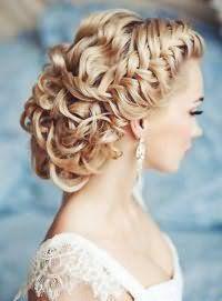 Свадебная прическа с плетением на длинные волосы.